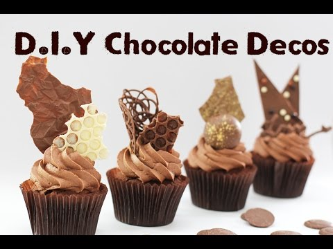7 Chocolate Decorations - Shards, Spheres, Discs and More!   Elise Strachan