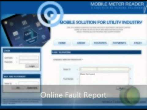 Mobile Meter Reader - Solution by Faculty of Engineering, University of Ruhuna, Sri Lanka.