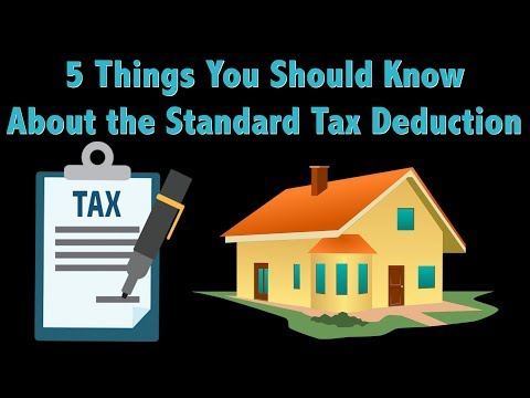 Tax Time Tips: What to Know About the Standard Tax Deduction