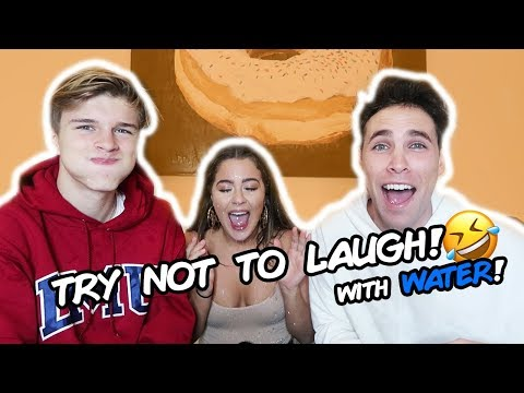 TRY NOT TO LAUGH CHALLENGE *hilarious* w: Tessa Brooks & Alex Lange