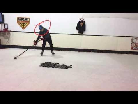 Base Hockey Shooting Lesson - Wrist Shot