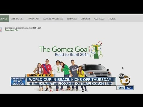 Local family heading to Brazil for World Cup, will document cultural exchange trip