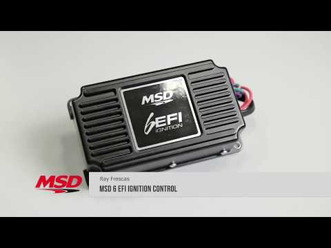 MSD 6 EFI Ignition Control 6415 Electronic Fuel Injection Spark Advance