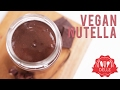 Vegan, Refined Sugar-Free, HOMEMADE NUTELLA | DELLE KITCHEN