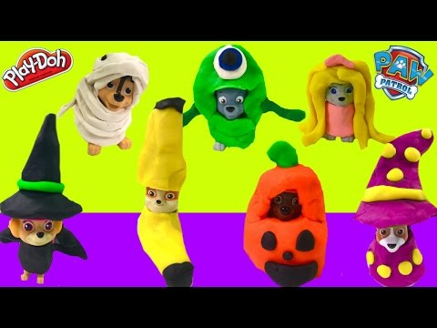 How to Make Easy Paw Patrol DIY Play Doh Halloween Costumes