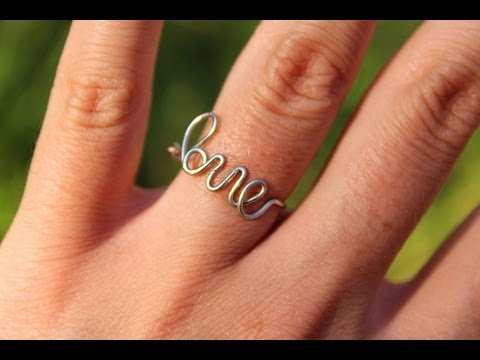 Tutorial: Wire Love Ring!