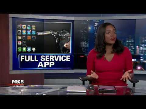 Full-service gas station app