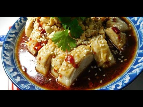 Szechuan Steamed Chicken Quarter in home made chili sauce