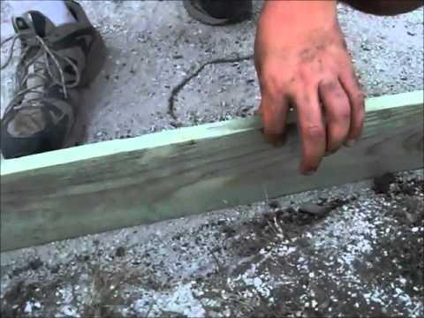 How to build a paver brick patio part 2
