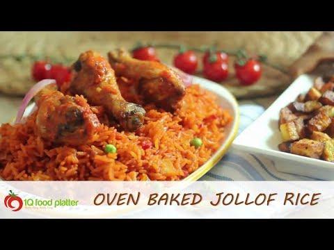 How to make Oven Baked Jollof Rice - 1QFOODPLATTER