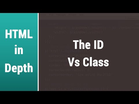 Arabic Html Lessons - Learn The Difference Between ID and Class