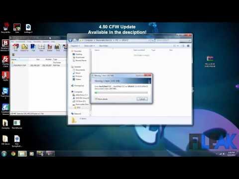 PS3 4.50 ofw jailbreak || 4.50 cfw update tutorial