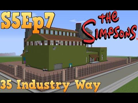 Minecraft Simpsons S05: Bart's Factory Tour!