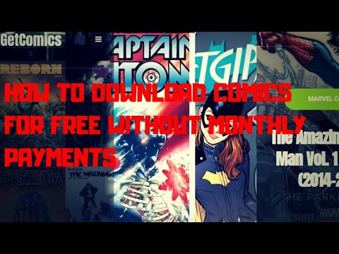 HOW TO DOWNLOAD COMICS FOR FREE W/OUT PAYMENTS INCLUDING MARVEL & DC!! (NOT CLICKBAIT)