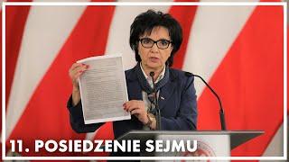 Oświadczenie Marszałek Sejmu - zawiadomienie do prokuratury