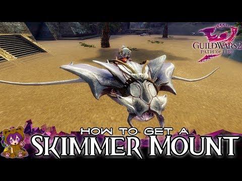 ★ Guild Wars 2 ★ - How to get a Skimmer Mount