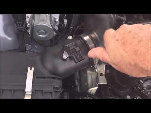 Subaru Crosstrek Charcoal Air Filter Removal