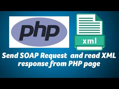 Send SOAP Request  and read XML response from PHP page