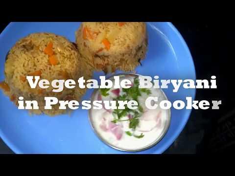 Vegetable Biryani in pressure cooker   How to make veg Biryani recipe   veg biryani in cooker-Tamil
