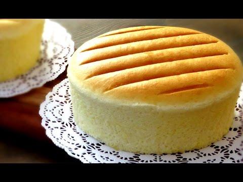 How To Steam Bake Sponge Cake | Castella Cake Recipe 原味古早味蛋糕做法
