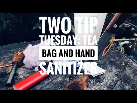 Two Tip Tuesday: Tea Bag and Hand Sanitizer