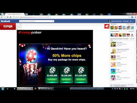 How to escape Security Alert!  Zynga Poker (HD)