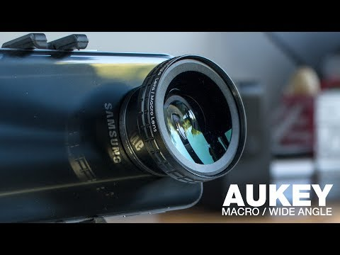 Aukey 2-in-1 Macro & Wide Angle Smartphone / iPhone Camera Lens