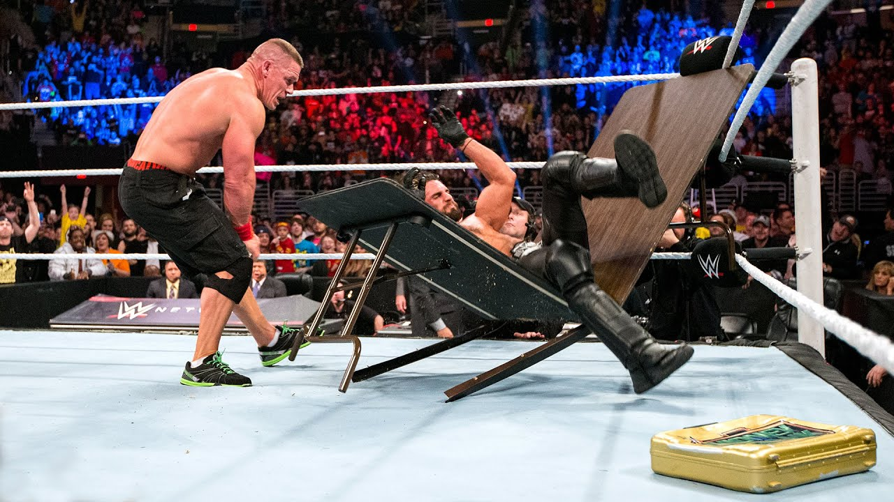 WWE Tables, Ladders & Chairs full matches live stream