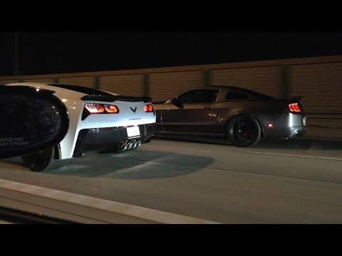 LS swap RX7 vs C7 Z06 vs bolt-on GT500s!