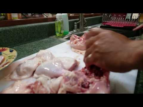 Cutting a Whole Chicken