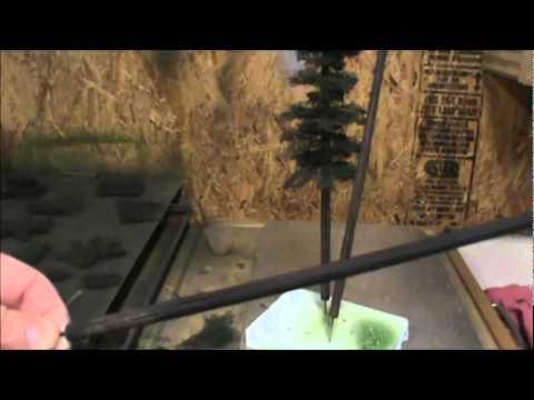 Making Furnace Filter  Trees