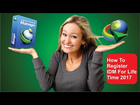 How To Register IDM For Life Time 2017