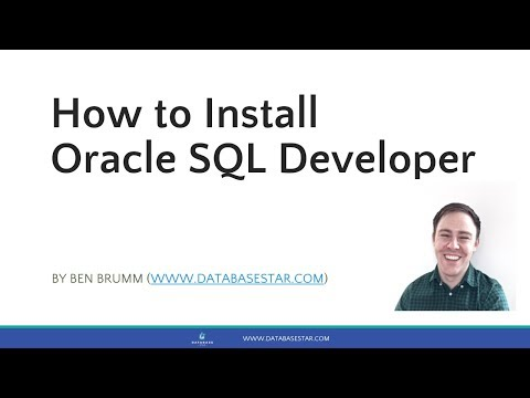 How to Install Oracle SQL Developer