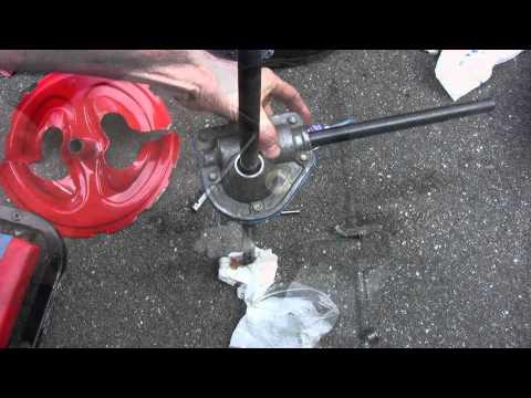 Troy-Bilt (MTD) Storm 2620 Snowblower Auger Gear Repair - Part 2