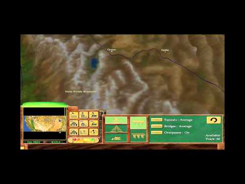 Railroad Tycoon 3 - 03 - Central Pacific (Gold Medal)