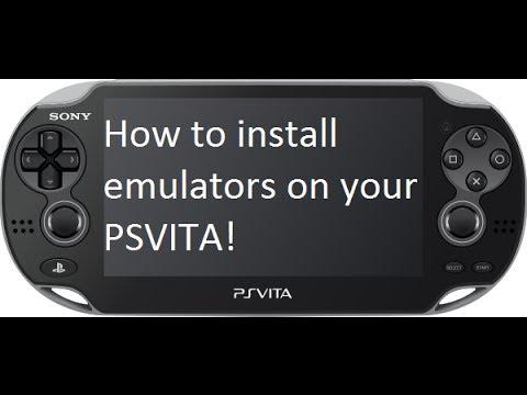 How to install Emulators on Ps Vita