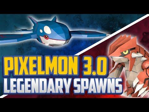 Minecraft Pixelmon 3.0 Legendary Spawns, Pixelmon Spawner + Legendary Guide!