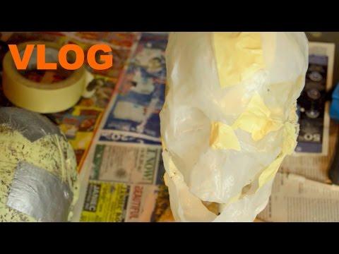 Bleached Bones Vlog 2 - Skinning the Skull