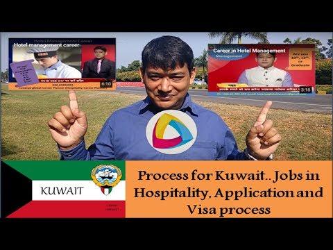 Process for Kuwait job application and visa process