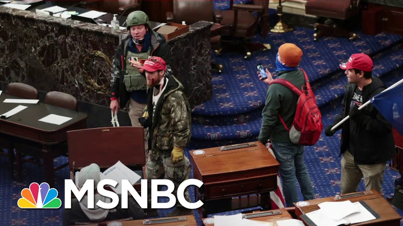 Report: Some Democrats In Congress Are Worried Their Colleagues Might Kill Them   All In   MSNBC