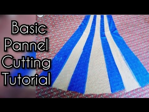 14 Panel Anarkali Dress Marking And Cutting  DIY   Tailoring With Kushi