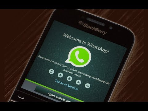 Continue Using WhatsApp On BlackBerry 10 Even After December 31, 2017