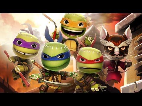 LittleBigPlanet 3 - Teenage Mutant Ninja Turtles Costume Pack Showcase - TMNT LBP3
