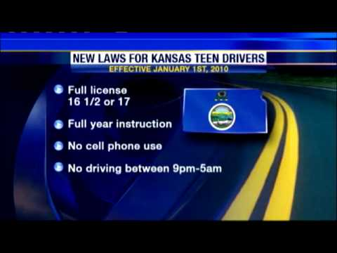 Kansas Teens Rush To Get Driver's License