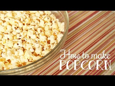 The Domestic Geek: How to Make Popcorn WITHOUT a Microwave