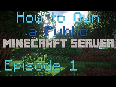 How to own a Public Minecraft server - Episode 1- Hosting