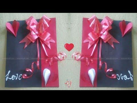 DIY Valentine Card | Handmade Easy Card for Valentine's Day