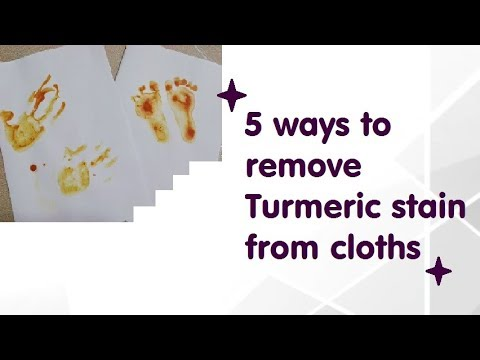 5 simple tricks to remove turmeric stain from cloths|Cleaning tips and Tricks||Rashmi's care tips