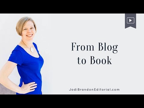 Book writing tips for bloggers - Convert Blog To Book