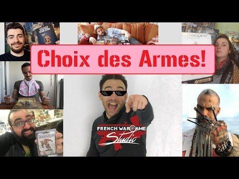 FWS - Premier Choix des Armes de la chaine ! (feat hutif, planete wargame, Hiigy TV, Mohand Art...)